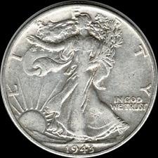 A 1943 P Walking Liberty Half Dollar 90% SILVER US Mint (Exact Coin Shown) W30