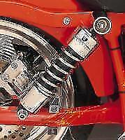"Progressive Suspension 412 Chrome 11"" Standard Shocks for Harley-Davidson Dyna"