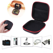 Square EVA Carrying Hard Case Box Headset Earphone Earbud Storage Pouch Bag