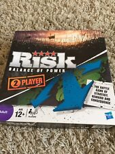 Hasbro Risk Balance of Power Board Game  2 Player brand new