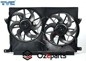 Ford Falcon XR6 XR8 BA BF 2002~2006 Twin Thermo Radiator Fan with motors