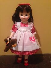 "1988 LTD ED FAO Schwarz Madame Alexander ""BROOKE"" doll with STEIFF BEAR"