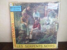 "7"" LES SERPENTS NOIRS - Mon seul Amour + DEDICACES - OLYMPIA - LPQ 536 - BELGIUM"