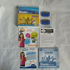 Lot 2 Jeux Storio 2 VTECH -scooby-doo + Dora L'exploratrice/ jeux éducatifs