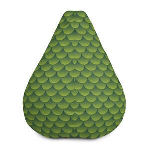 Green Dragon Bean Bag Chair Cover
