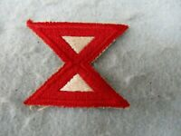 WWII 10th Army Patch Machine Embroidered Pacific Theater Okinawa WW2
