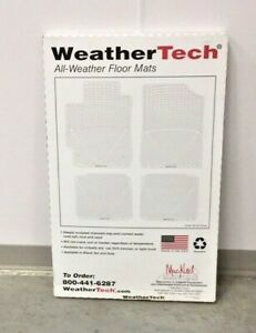 WeatherTech W232 Black All weather 3rd Row Floor Mat  Lincoln MKT Ford Flex