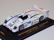 1/43 IXO Audi R8 Champion  car #2 ,3rd at 2004 24 Hours of LeMans  LMM0058