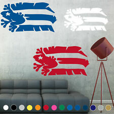 Bandera de Puerto Rico Flag Decal Rican Coqui Taino Wall Living Room House Decor