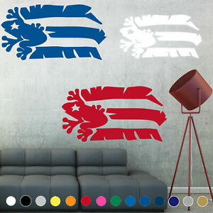 Bandera de Puerto Rico Flag Decal Rican Coqui Taino Wall Living Room House Decor