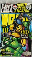 Wizard Magazine April 1998: South Park Stickers, Thor, X-Men