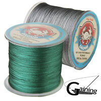 Braided Fishing Line 500m Japanese Super Strong PE Multifilament Green Fish Line