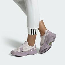 Adidas Originals Falcon Zip Leather Purple EF1953 [Women's Size 9] Running Shoes