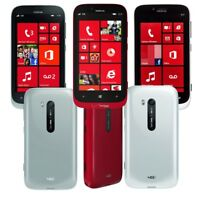 Unlocked - Nokia Lumia 822 RM-845 Verizon Wireless Windows 8- White - Red - Gray