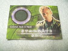 Stargate Costume Card Colonel Jack O'Neill C22