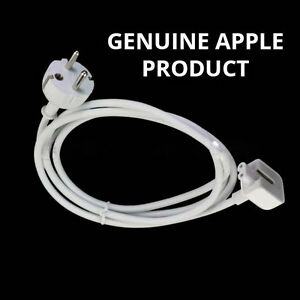 Genuine Apple Macbook Pro Air 11,13,15 EURO Charger Extension plug Cord Cable