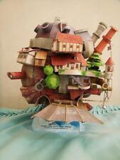 Hayao Miyazaki Howl's Moving Castle Paper Model Kit Flying Version