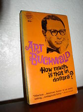 How Much is that in Dollars by Art Buchwald (Crest Books,Nov. 1962 Paperback)