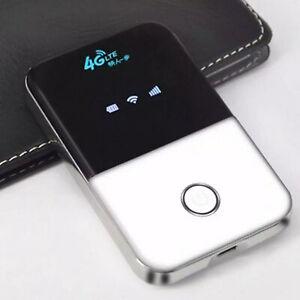 Tragbar 4G LTE Mobiler Breitband WiFi Wireless Router MiFi Hotspot SIM Karte DE