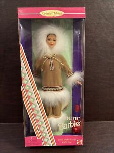 Mattel Barbie Arctic 1996 Dolls Of The World Collectors Edition New
