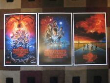 "Stranger Things (11"" x 17"")  Collector's Poster Prints  ( Set of 3 )"