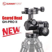 New Version SunwayFoto GH-PRO II Head Gear Tripod for For Sony Nikon Canon DSLR