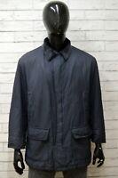 Giubbino Uomo HENRY COTTONS Taglia 48 Giubbotto Giacca Cappotto Jacket Man Blu