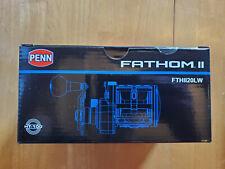 Penn Fathom Ii Level Wind 20Lw Rh Reel New In Box