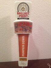"Ballast Point Brewing Co Pumpkin Down Pumpkin Ale Tap Handle 11.5"" BRAND NEW"