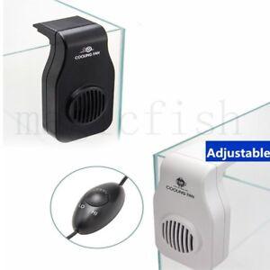 Aquarium Chillers Cooling Fan Fish Tank Adjustable Speed Temperature Controller