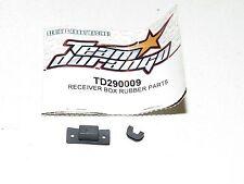 NEW Team Durango Receiver Box Rubber Parts DNX408 TD290009 1:8 4WD Nitro Buggy