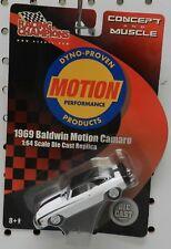 WHITE Z28 SS 1969 69 CHEVY BALDWIN MOTION CAMARO DYNO PROVEN RC RACING CHAMPIONS
