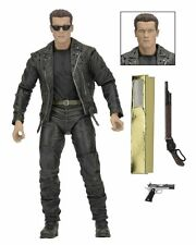 "TERMINATOR 2 T-800 Galleria 7"" FIGURE NECA 25th Anniversario in magazzino!"