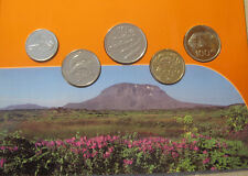 Iceland Coin set 2000, Uncirculated .Only 10000 set issued.Rare set.