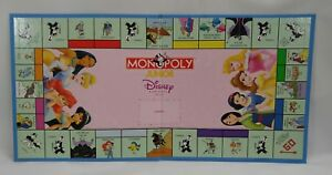 +Disney Princess Game Board Replacement Piece Monopoly Junior Belle Mulan Ariel