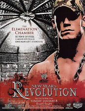 WWE 2006 NEW YEARS REVOLUTION CENA PPV POSTER FREE SHIPPING! ROLLED NEVER FOLDED