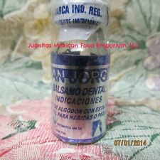 SAN JORGE BALSAMO DENTAL 15 ml DENTAL BALM FOR TOOTH AND GUM PAIN BUG BITES