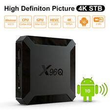X96Q Media Smart TV Box Android 10.0 Allwinner H313 Quadcore Player Set Top Box