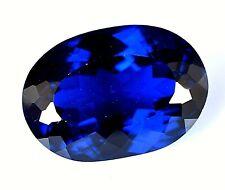 18.15 Ct Natural Violet Blue Tanzanite D Block Attractive Certified Gemstone AAA