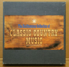 Smithsonian Collection of Classic Country Music 8-Track Tapes (8) with book 1981