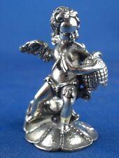 Figur Engel Sammelobjekt mit Honigtopf Otto Wolter 925er Sterling Silber