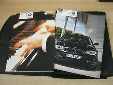 BMW 1 SERIES HANDBOOK  OWNERS MANUAL 2008-2011  AND AUDIO BOOK , ref M38