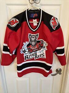 Albany River Rats boys Vintage 1993 Jersey NJ Devils Minor League AHL L/XL EUC