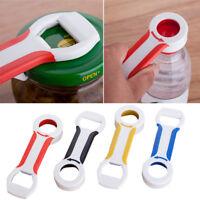 4 in 1 Handy Can Bottle Caps Canning Lid Pop Beer Tab Opener Grip Kitchen Pro#