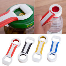 4 in 1 Handy Can Bottle Caps Canning Lid  Beer Tab Opener Grip Kitchen
