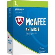 MCAFEE ANTIVIRUS PLUS 2018 - 1 DEVICE - 1 YR PC MAC ANDROID IOS IPHONE