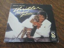 cd album MICHAEL JACKSON thriller special edition