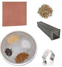 """12"""" Pellet Tube Smoker (Sq), Peach Butcher Paper, Temperature Clip, Spice Screen"""