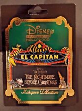 Disney Pins - DSF - The Nightmare Before Christmas Marquee 2017 - LE 300