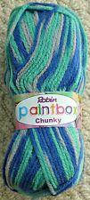 Knitting Wool 100g Paintbox Chunky (Bulky) Knitting Wool Yarn Robin